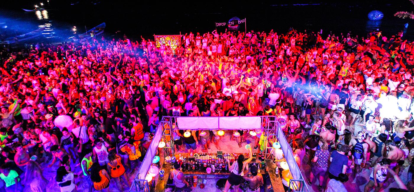Fullmoon party Koh Phangan ปาร์ตี้สุดมันส์ทะเลก็ชิล 1